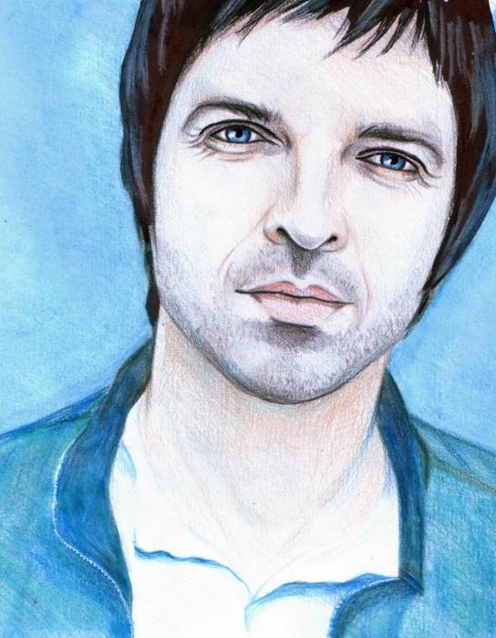 Noel Gallagher par Ophidia